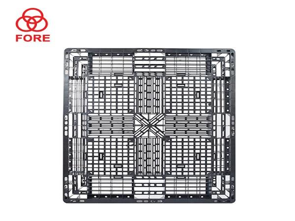 田字网格塑料托盘1100-1100-150(一)