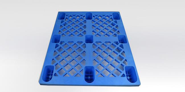 九脚塑料托盘应用结构分析