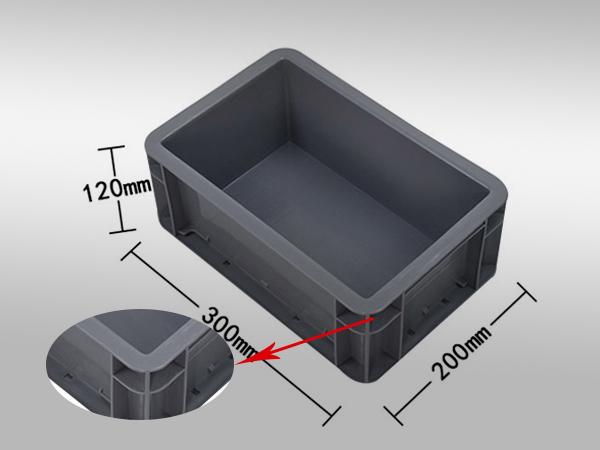 EU塑料周转箱32系列300-200-120(一)