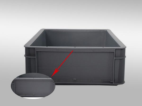 EU塑料周转箱43系列400-300-120(三)