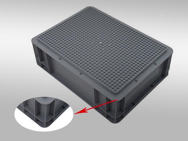 EU塑料周转箱43系列400-300-120(二)