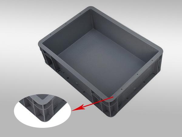 EU塑料周转箱43系列400-300-120(一)
