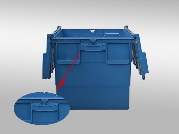 斜插塑料周转箱600-400-365(四)