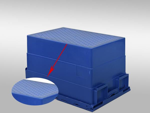 斜插塑料周转箱600-400-365(二)