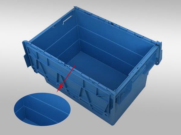 斜插塑料周转箱600-400-365(一)
