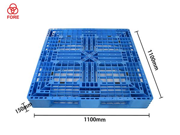 田字网格塑料托盘1100-1100-150
