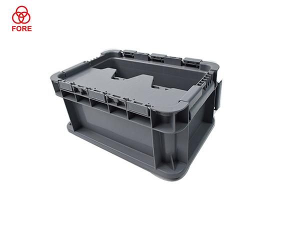 防尘塑料周转箱300-200-148
