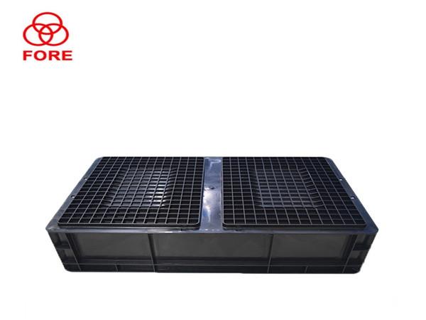 46系列600-400-148防静电周转箱
