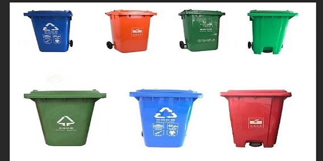 """给垃圾桶加装""""开盖神器""""还是直接采用脚踏垃圾桶"""